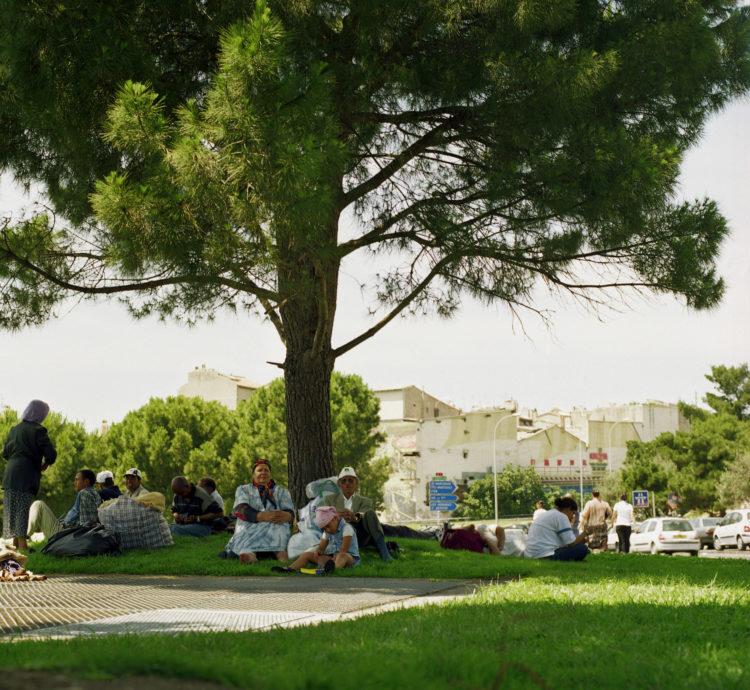 Brigitte Bauer | Euroméditerranée | 2002-2003 | Marseille, sans titre n° 02  (844-04), 103x112cm FC875 série Euroméditerranée, commande publique 2002-03
