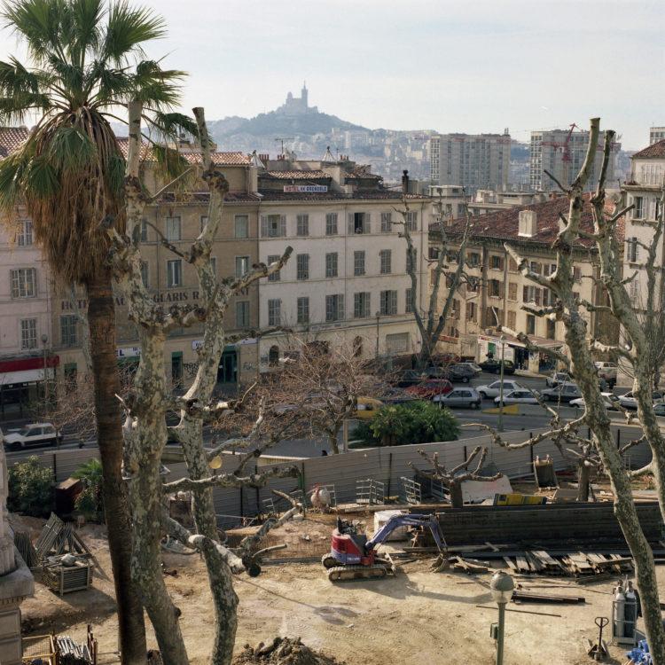 Marseille sans titre n°07, (764-01), 83x83cm FC876 série Euroméditerranée, commande publique 2002-03