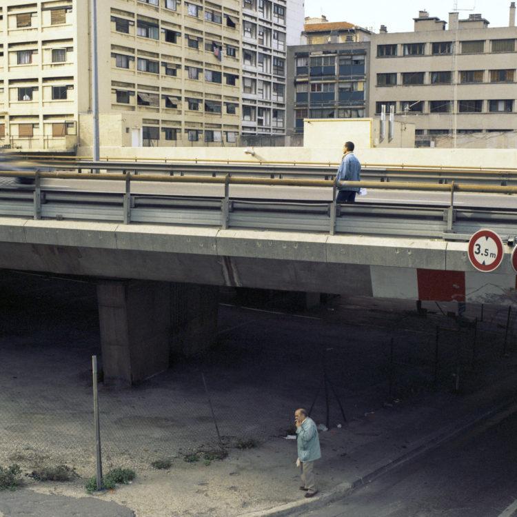 Brigitte Bauer | Euroméditerranée | 2002-2003 | Marseille sans titre n°08, (765-06), 83x83cm FC876 série Euroméditerranée, commande publique 2002-03