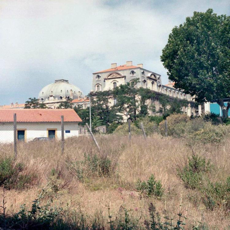 Brigitte Bauer | Euroméditerranée | 2002-2003 | Marseille sans titre n°10, (869-03), 40x40cm FC912 série Euroméditerranée, commande publique 2002-03