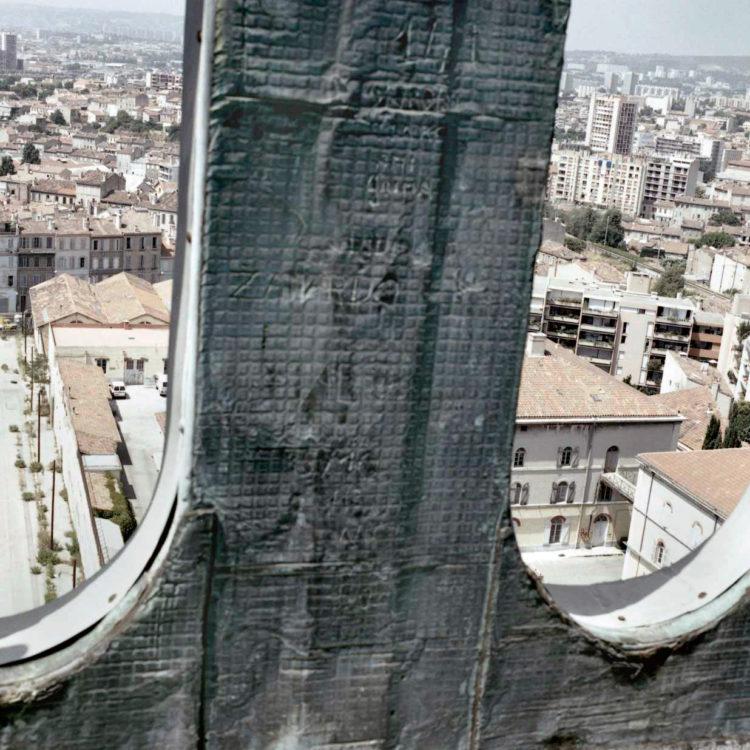 Brigitte Bauer | Euroméditerranée | 2002-2003 | Marseille sans titre n°11, (877-05), 40x40cm FC912 série Euroméditerranée, commande publique 2002-03