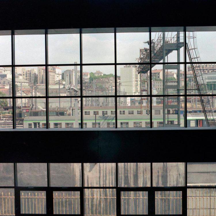 Brigitte Bauer | Euroméditerranée | 2002-2003 | Marseille sans titre n°14, (874-11), 40x40cm FC912 série Euroméditerranée, commande publique 2002-03