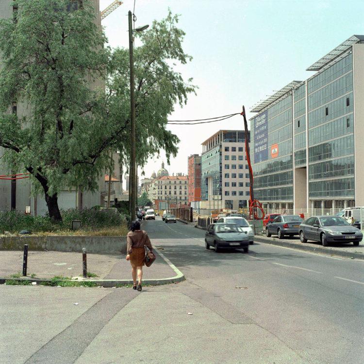 Brigitte Bauer | Euroméditerranée | 2002-2003 | Marseille sans titre n°19, (866-03) série Euroméditerranée, commande publique 2002-03