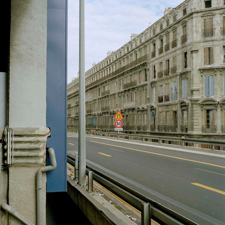 Brigitte Bauer | Euroméditerranée | 2002-2003 | Marseille sans titre n°20, (776-10) série Euroméditerranée, commande publique 2002-03