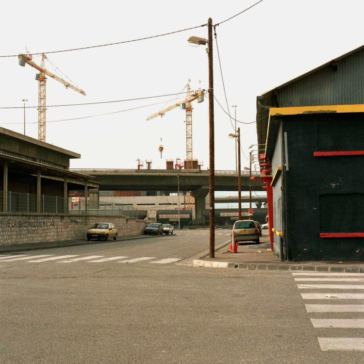 Brigitte Bauer | Euroméditerranée | 2002-2003 | Marseille sans titre n°22, (757-02) série Euroméditerranée, commande publique 2002-03