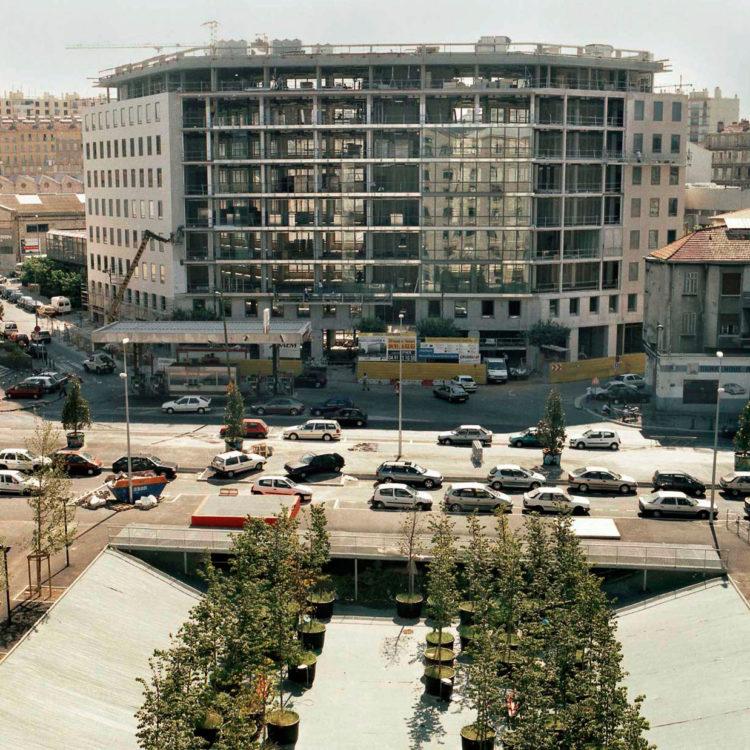 Brigitte Bauer | Euroméditerranée | 2002-2003 | Marseille sans titre n°25, (881-09) série Euroméditerranée, commande publique 2002-03