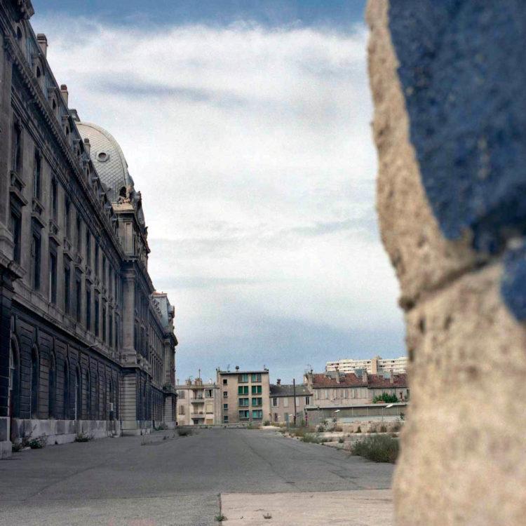 Brigitte Bauer | Euroméditerranée | 2002-2003 | Marseille sans titre n°26, (867-01) série Euroméditerranée, commande publique 2002-03