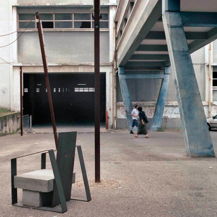 Brigitte Bauer | Euroméditerranée | 2002-2003 | Marseille, sans titre n°27, (870-09) série Euroméditerranée, commande publique 2002-03