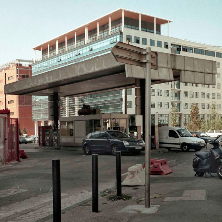 Brigitte Bauer | Euroméditerranée | 2002-2003 | Marseille sans titre n°28, (880-05) série Euroméditerranée, commande publique 2002-03