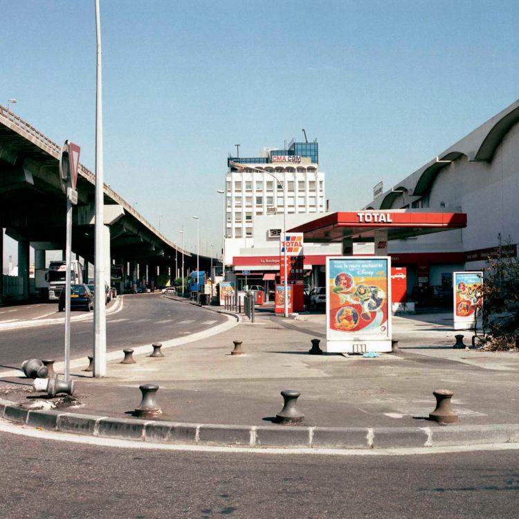 Brigitte Bauer | Euroméditerranée | 2002-2003 | Marseille, sans titre n°30, (881-10) série Euroméditerranée, commande publique 2002-03