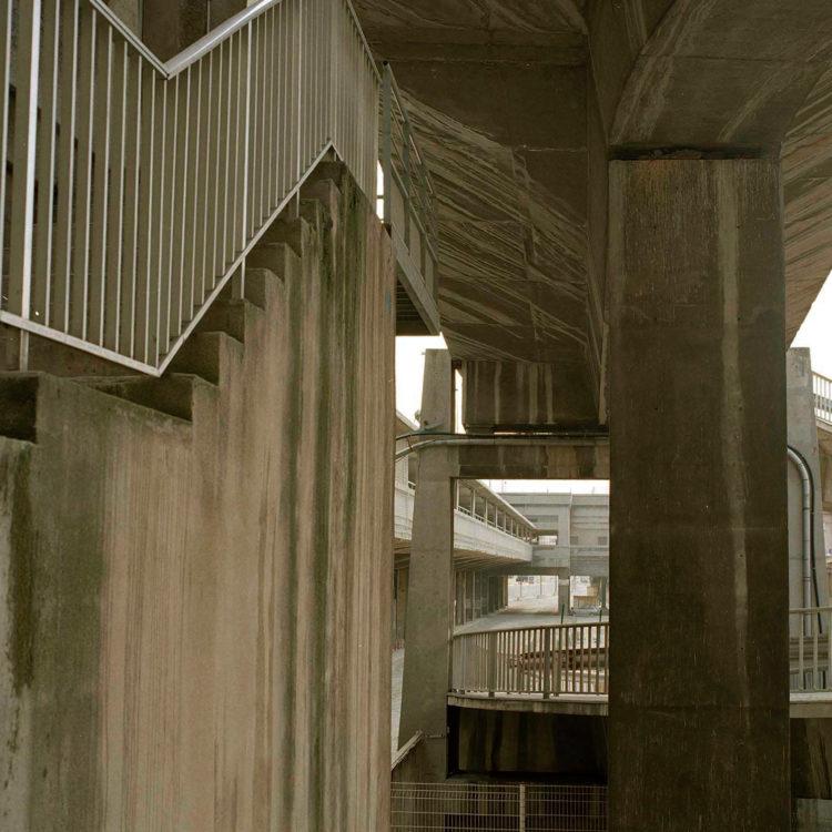 Brigitte Bauer | Euroméditerranée | 2002-2003 | Marseille, sans titre n°33, (770-09) série Euroméditerranée, commande publique 2002-03
