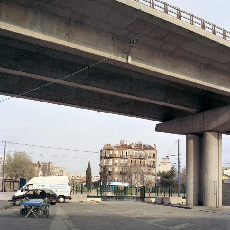 Brigitte Bauer | Euroméditerranée | 2002-2003 | Marseille, sans titre n°34, (773-05) série Euroméditerranée, commande publique 2002-03