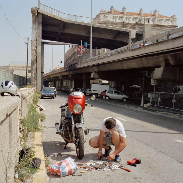 Brigitte Bauer | Euroméditerranée | 2002-2003 | Marseille, sans titre n°36, (850-02) série Euroméditerranée, commande publique 2002-03