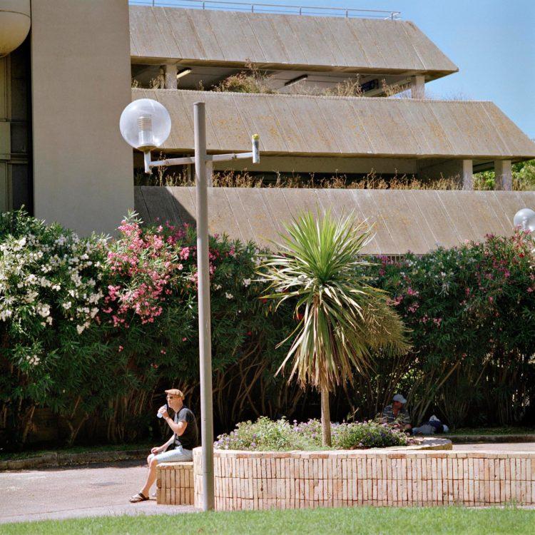 Brigitte Bauer | Aller aux jardins | 2010-2011 | Arles, boulevard des Lices, série Aller aux Jardins 2010-11, réalisée dans le cadre du programme Images Contemporaines/Patrimoine du CG13