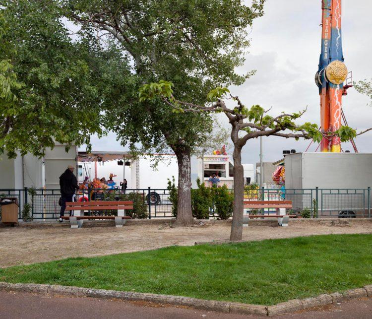 Brigitte Bauer | Aller aux jardins | 2010-2011 | Martigues, jardin de Ferrières, série Aller aux Jardins réalisée 2010-11, dans le cadre du programme Images Contemporaines/Patrimoine du CG13