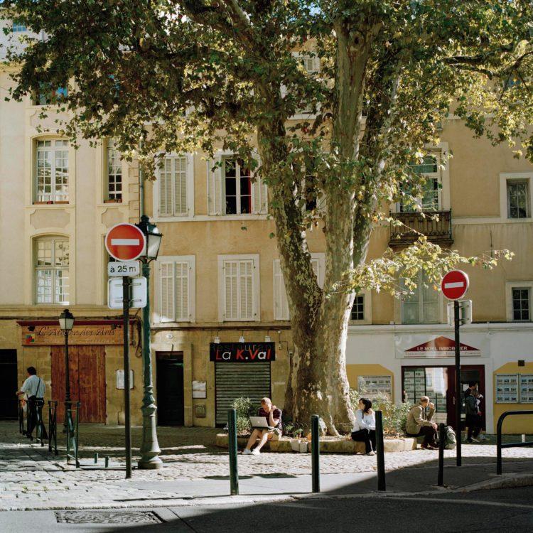 Aix-en-Provence, boulevard Carnot, série Aller aux Jardins 2010-11, réalisée dans le cadre du programme Images Contemporaines/Patrimoine du CG13