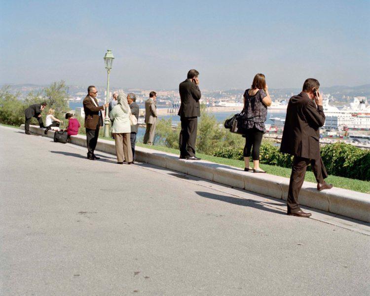 Brigitte Bauer | Aller aux jardins | 2010-2011 | Marseille, parc du Pharo, série Aller aux Jardins 2010-11, réalisée dans le cadre du programme Images Contemporaines/Patrimoine du CG13