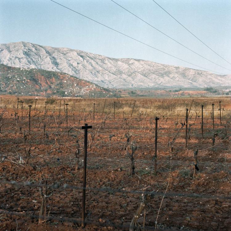 Brigitte Bauer | Montagne Sainte-Victoire | 1992-1994 | sans titre (15-05), série Montagne Sainte-Victoire 1992-94
