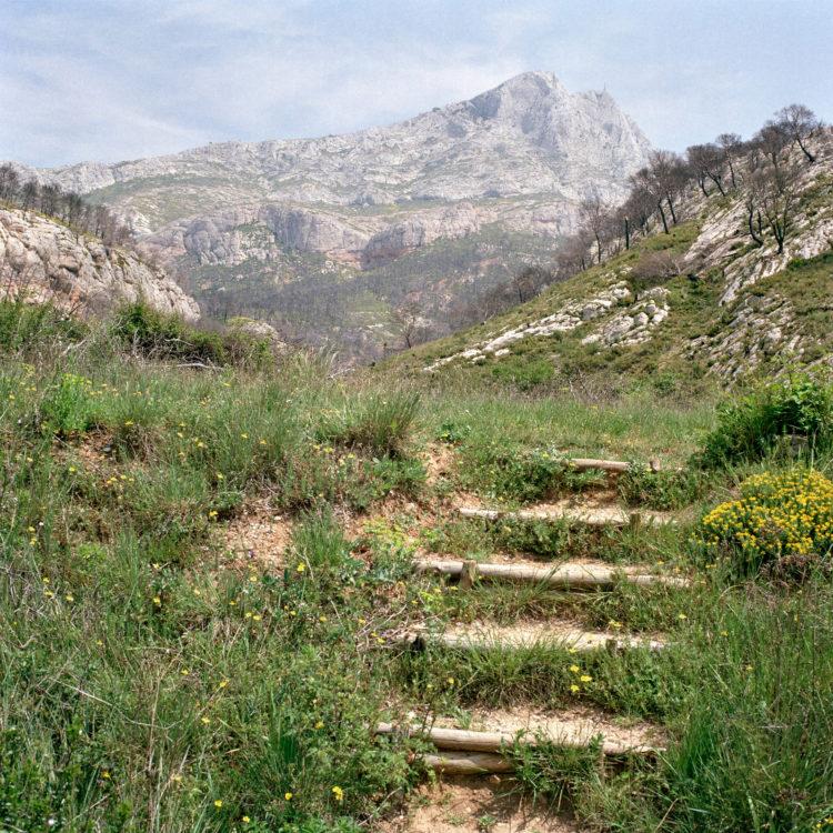sans titre (21-05), série Montagne Sainte-Victoire 1992-94