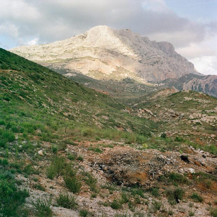 Brigitte Bauer | Montagne Sainte-Victoire | 1992-1994 | sans titre (23-08), série Montagne Sainte-Victoire 1992-94