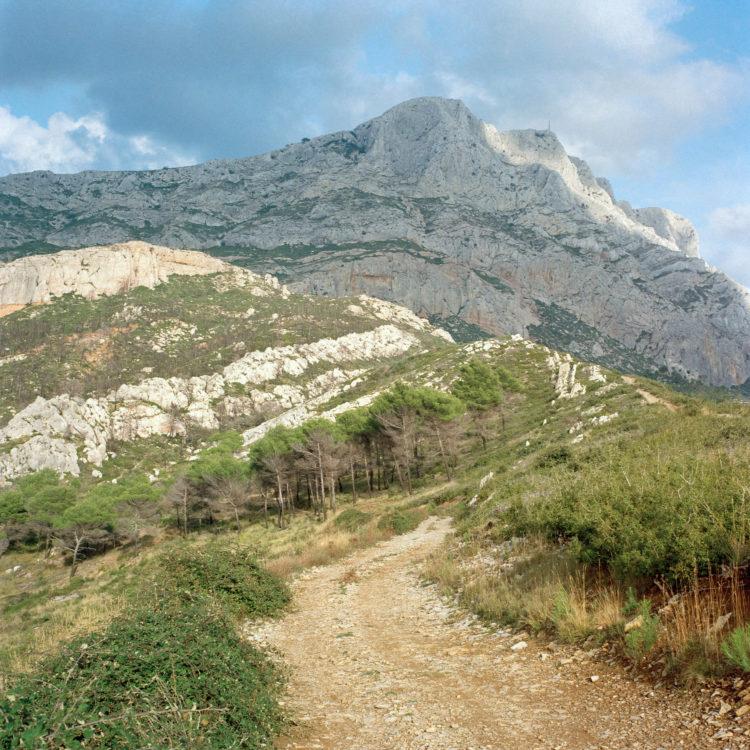 Brigitte Bauer | Montagne Sainte-Victoire | 1992-1994 | sans titre (24-09), série Montagne Sainte-Victoire 1992-94