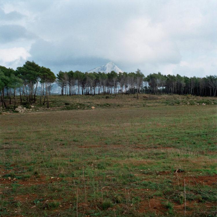 Brigitte Bauer | Montagne Sainte-Victoire | 1992-1994 | sans titre (30-01), série Montagne Sainte-Victoire 1992-94