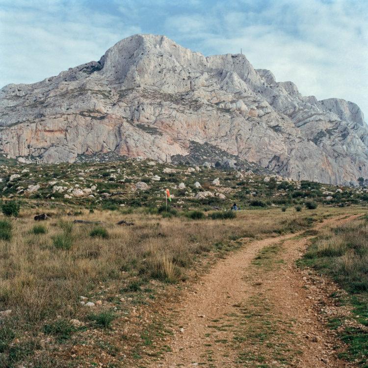 Brigitte Bauer | Montagne Sainte-Victoire | 1992-1994 | sans titre (33-01), série Montagne Sainte-Victoire 1992-94