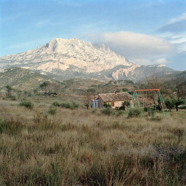 Brigitte Bauer | Montagne Sainte-Victoire | 1992-1994 | sans titre (36-03), série Montagne Sainte-Victoire 1992-94
