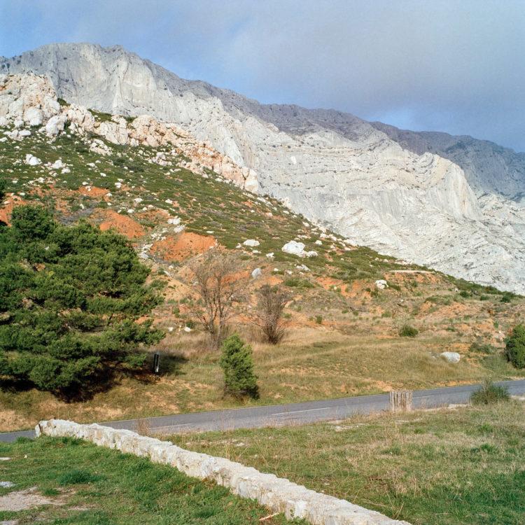 Brigitte Bauer | Montagne Sainte-Victoire | 1992-1994 | sans titre (36-08), série Montagne Sainte-Victoire 1992-94