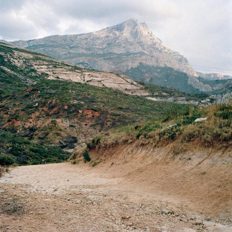 Brigitte Bauer | Montagne Sainte-Victoire | 1992-1994 | sans titre (38-08), série Montagne Sainte-Victoire 1992-94