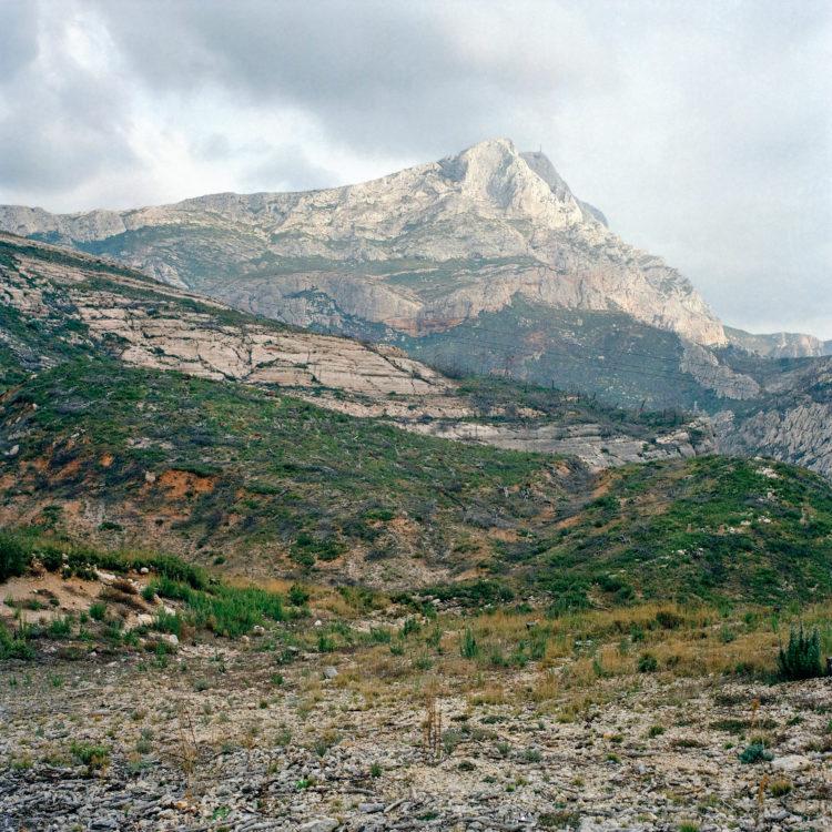 Brigitte Bauer | Montagne Sainte-Victoire | 1992-1994 | sans titre (38-09), série Montagne Sainte-Victoire 1992-94