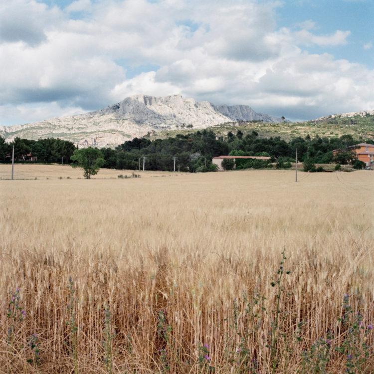 Brigitte Bauer | Montagne Sainte-Victoire | 1992-1994 | sans titre (43-10), série Montagne Sainte-Victoire 1992-94