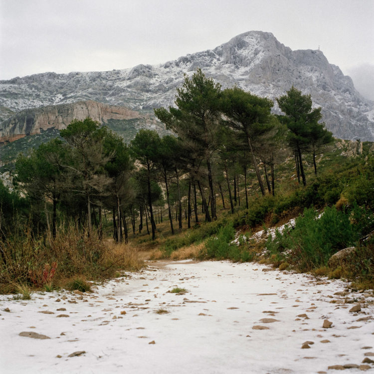 Brigitte Bauer | Montagne Sainte-Victoire | 1992-1994 | sans titre (50-02), série Montagne Sainte-Victoire 1992-94