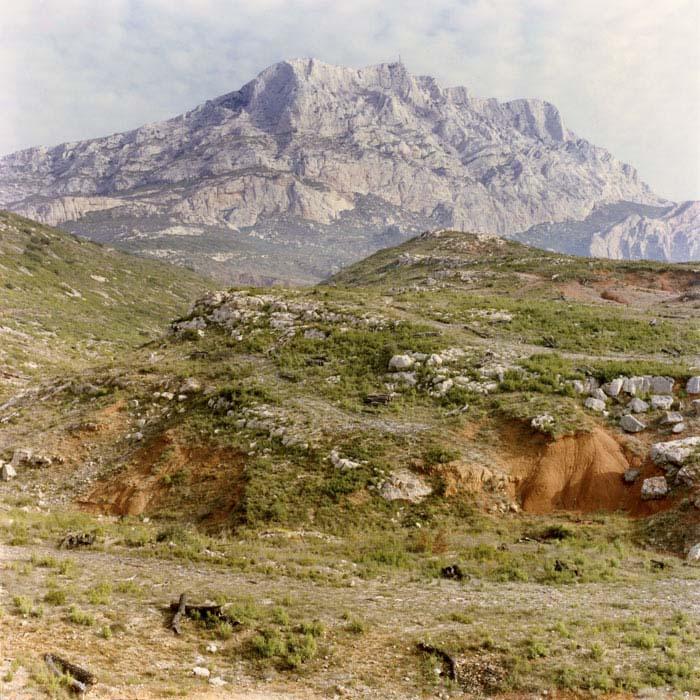 Brigitte Bauer | Montagne Sainte-Victoire | 1992-1994 | sans titre (32-01), série Montagne Sainte-Victoire 1992-94