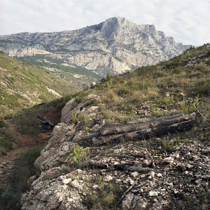 Brigitte Bauer | Montagne Sainte-Victoire | 1992-1994 | sans titre (32-02), série Montagne Sainte-Victoire 1992-94