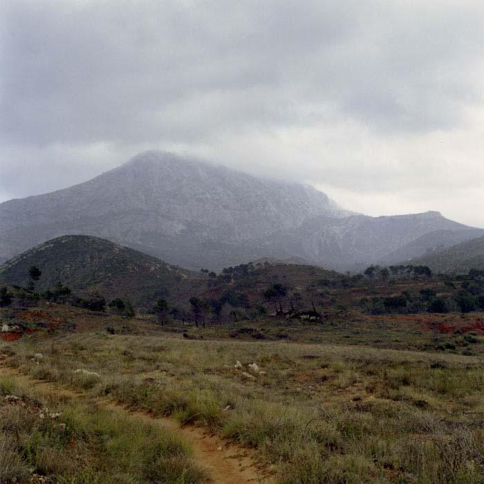 Brigitte Bauer | Montagne Sainte-Victoire | 1992-1994 | sans titre (31-04), série Montagne Sainte-Victoire 1992-94