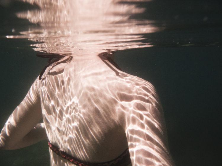 Hélène David | L'esprit des calanques | 2008-2011 | La baigneuse