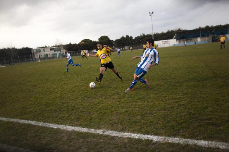 Hélène David | Gueule d'Hexagone — Seveso Football Club | 2011 | L'équipe 3 de l'Etoile Sportive Fosséenne.