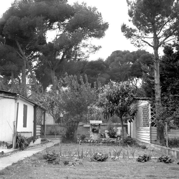 Anne Loubet   Les jardins ouvriers   1998-1999   JARDIN DU CASTELLAS AUX  AYGALADES, MARSEILLE, VUES DES PARCELLES INTERIEURES