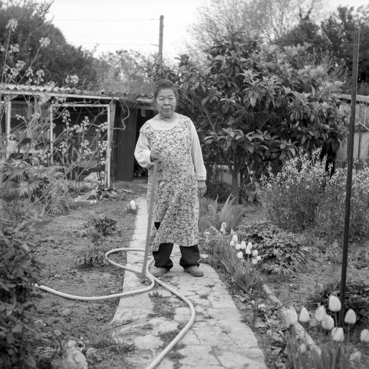 Anne Loubet   Les jardins ouvriers   1998-1999   PARCELLE DE MADAME MARAJO, JARDIN DU CASTELLAS AUX AYGALADES, MARSEILLE