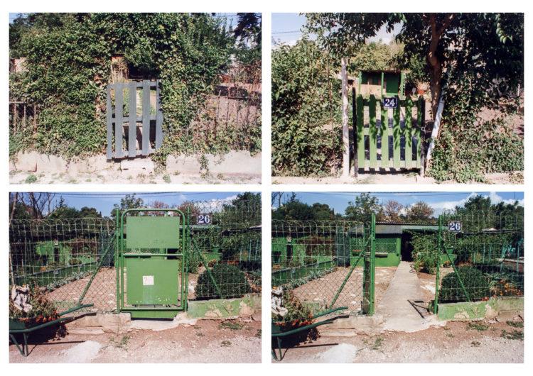 Anne Loubet   Les jardins ouvriers   1998-1999