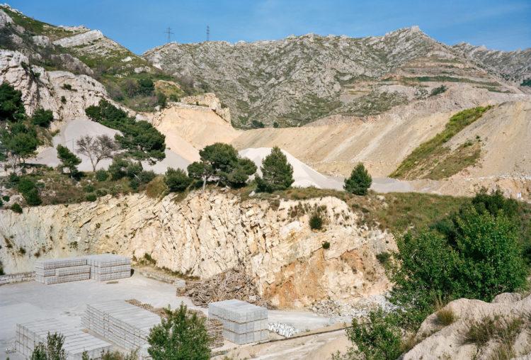 Geoffroy Mathieu | Marseille, ville sauvage | 2007-2010 | Quartiers Est, Saint-Tronc. Carrière Perasso (site exploité depuis 1840).