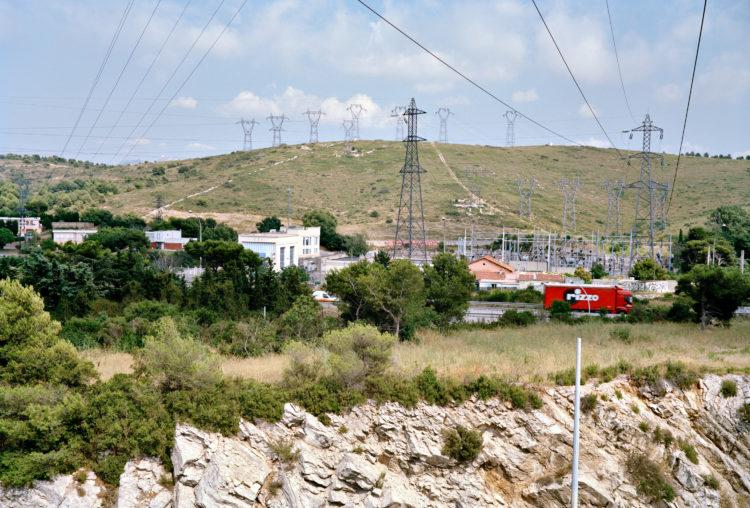 Geoffroy Mathieu | Marseille, ville sauvage | 2007-2010 | Septèmes-les-Vallons. Poste électrique du