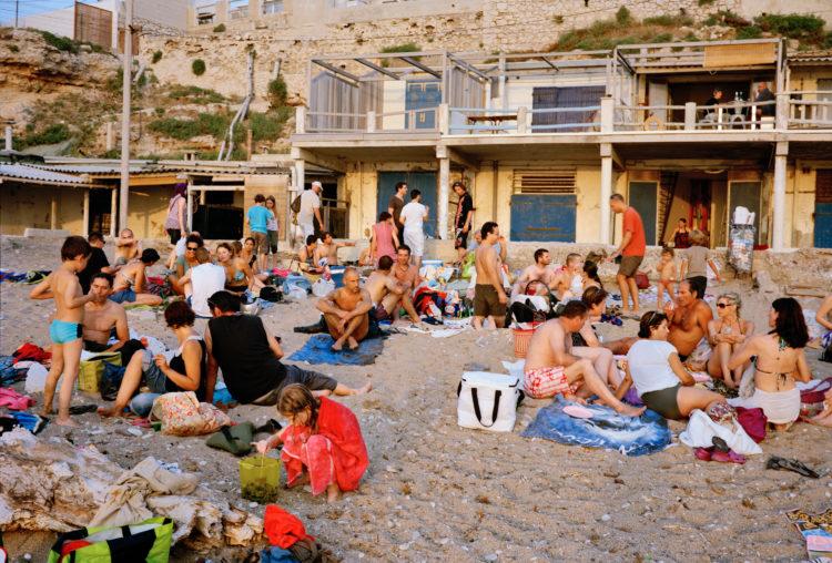 Geoffroy Mathieu | Marseille, ville sauvage | 2007-2010 | Quartiers Sud, Montredon. Cabanons de la plage de la Verrerie.