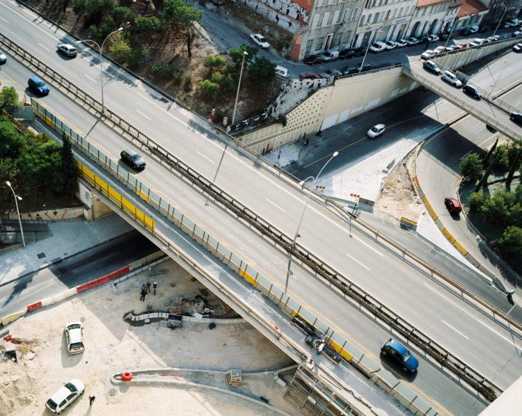 Cyrille Weiner | Les longs murs | 2004 | autoroute Nord, Porte d'Aix