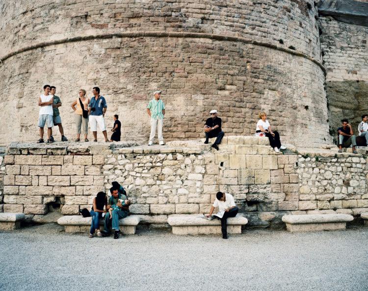 Cyrille Weiner | Les longs murs | 2004 | Esplanade du Fort Saint Jean J4