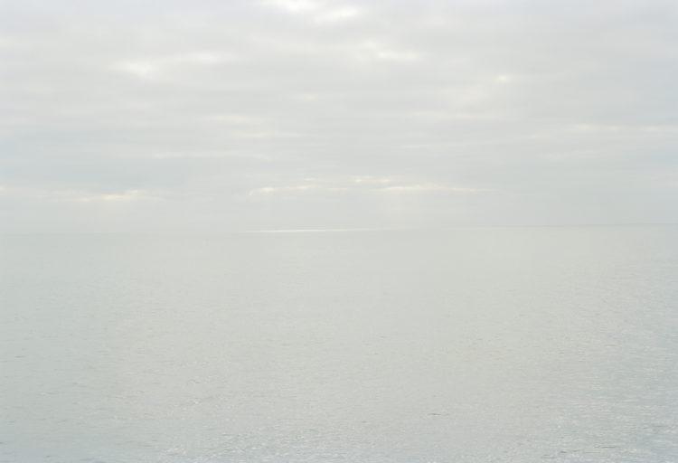 Thibaut Cuisset | Le pays clair, Camargue | 2011-2012 | Mer Méditérannée au Grand Radeau, Saintes-Maries-de-la-mer, Arles. 2012