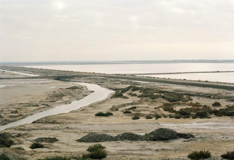 Thibaut Cuisset | Le pays clair, Camargue | 2011-2012 | Route de la Mer, Salin-de-Giraud, Arles. 2012