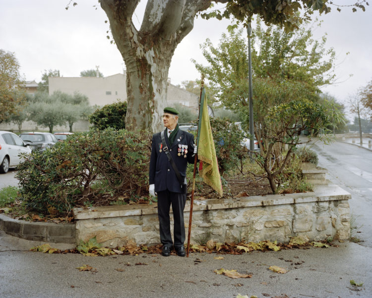 LE TEMPS PRESENT, VILLAGES DANS LES BOUCHES DU RHONEPUYLOUBIER, FRANCE, 2014