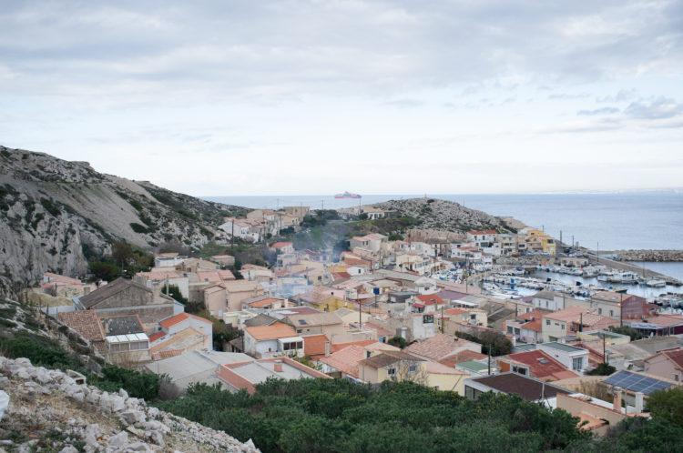 Anne Loubet | Marseille les collines | 2006-2020 | VILLAGE DES GOUDES, MARSEILLE